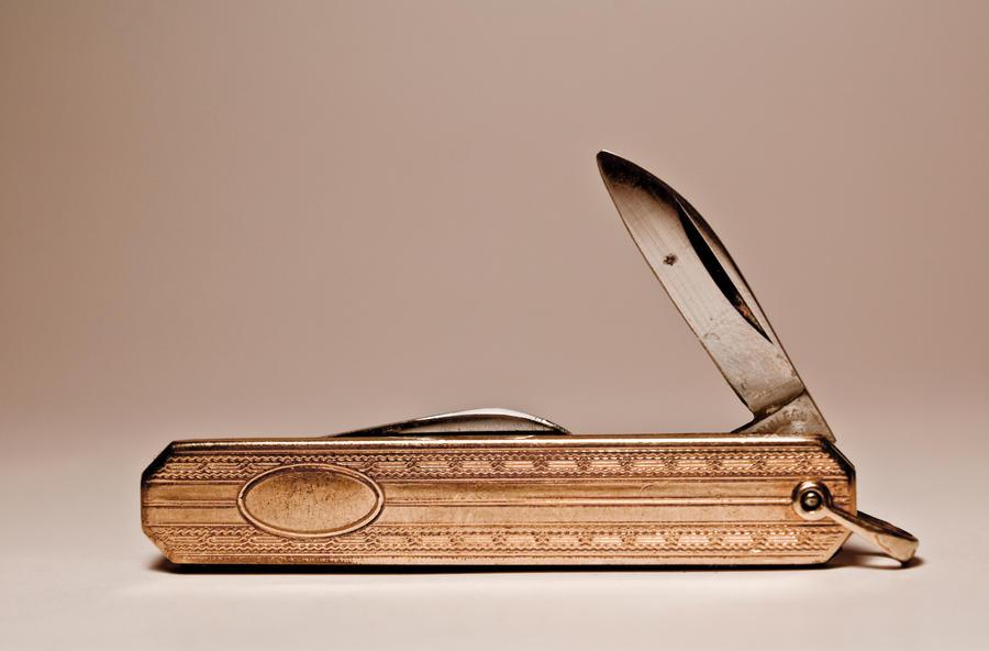 Pocket Knife by JotVelZetStock