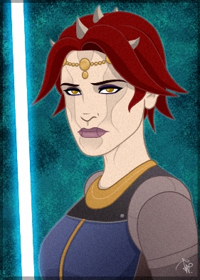 Jazlynn Endeel SWTOR Zabrak Jedi by Aliens-of-Star-Wars