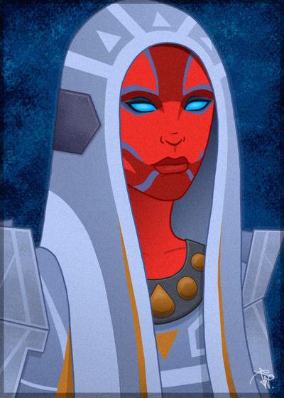 Swtor Voss Mystic  Anjylle Farwell by Aliens-of-Star-Wars