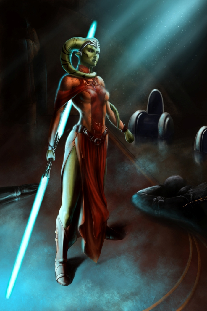 SWTOR Last Council Twi'lek Jedi Alysia Solimar by Aliens-of-Star-Wars