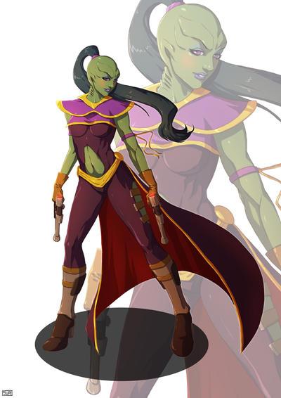 Star Wars Falleen princess by Aliens-of-Star-Wars