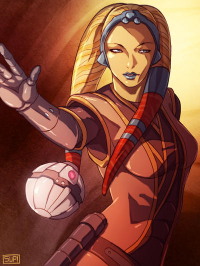 KOTOR Twi'lek by Aliens-of-Star-Wars
