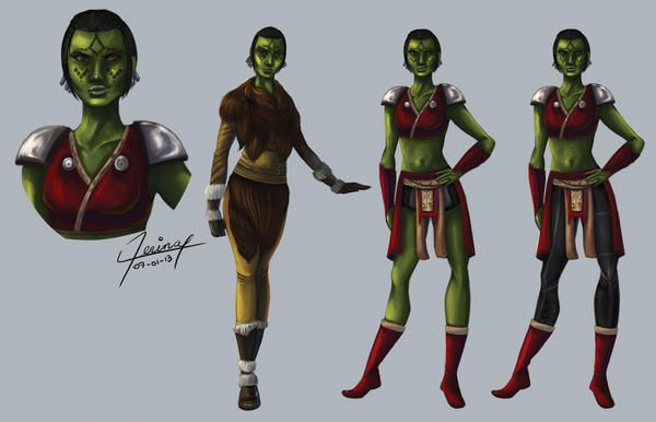SWTOR Mirialan Sith character sheet by xerina by Aliens-of-Star-Wars
