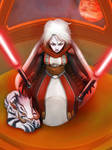 SWTOR Arkanian Offshoot Sith Lord by DioMahesa