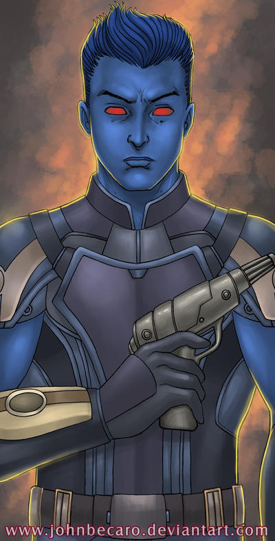 SWTOR Chiss Operative by John Becaro by Aliens-of-Star-Wars