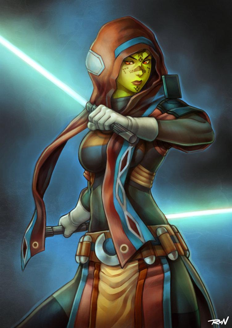 Swtor Mirialan Jedi By Runshin By Aliens Of Star Wars On Deviantart