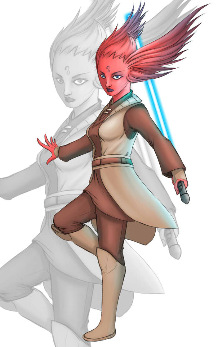Star Wars the Clone Wars Jedi Tiplee by diomahesa by Aliens-of-Star-Wars