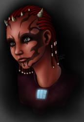 Teraahia Sith Warrior Portrait