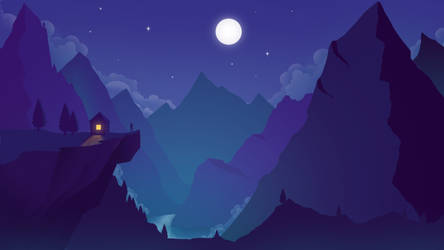 Fantasy Landscape by RasRT