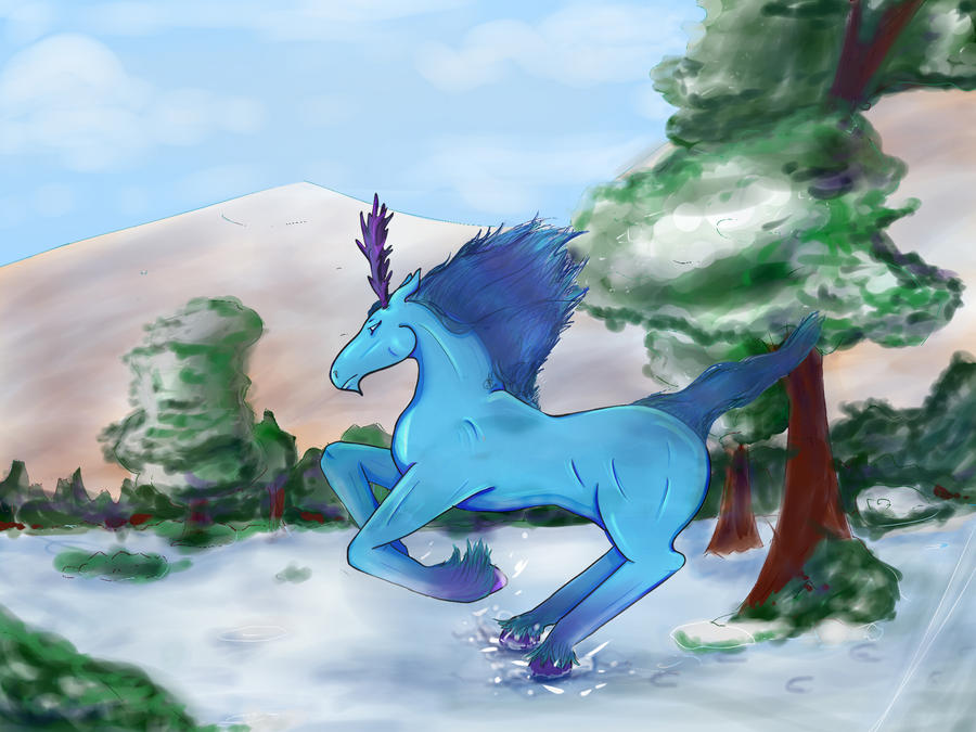 Spirit of the Winter. by Nekowhale