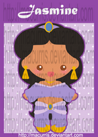Chibi Jasmine by macurris