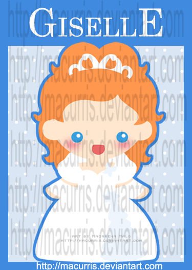 """[Images] """"Disney Chibis"""" Chibi_Giselle_by_macurris"""