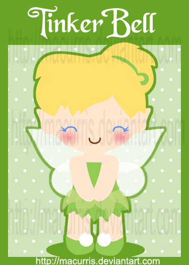 Chibi Tinkerbell 3 By Macurris On Deviantart