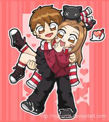 PinkNyu's Valentine Contest by macurris