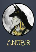 Anubis by jainas