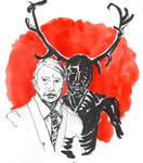 Hannibal: the wendigo
