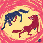 Wolves by jainas