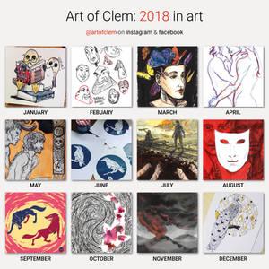 2018 art recap