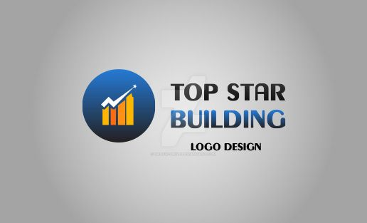 Top-Star-Building-Logo by Grafix-Drive