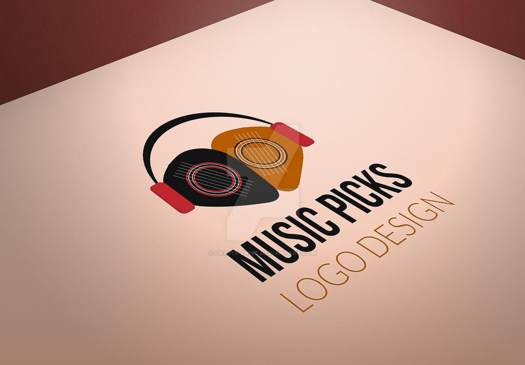 Music-Picks-Logo by Grafix-Drive