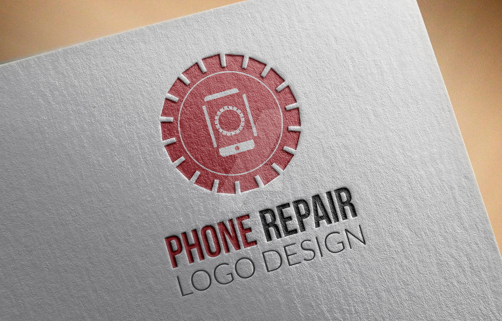 Phone-Repair-Logo-Grafix-Drive by Grafix-Drive