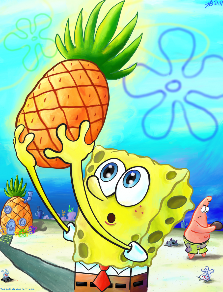 SpongeBob: Pineapple by YazzoB