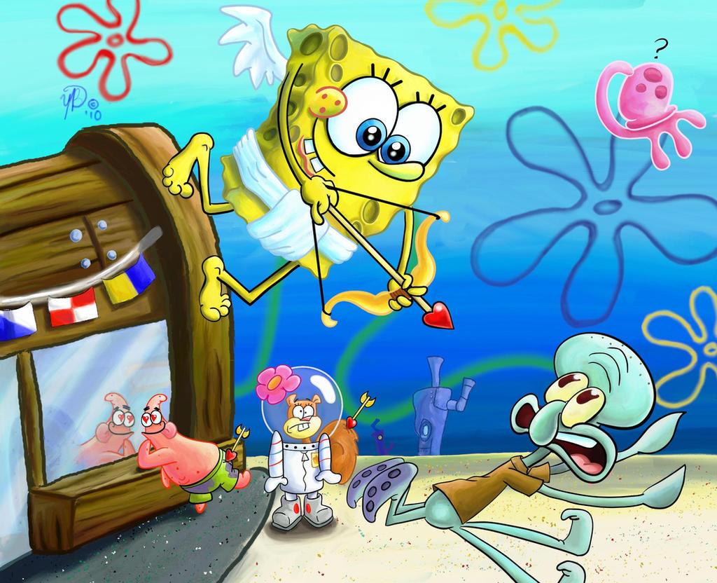 SpongeBob Calendar - February by YazzoB