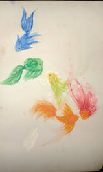 (V1) Fishes.