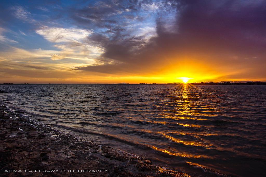 Sunset Poem by pharaohking