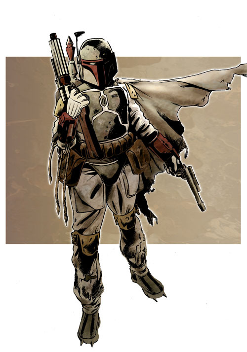 Boba Fett by jasonbaroody