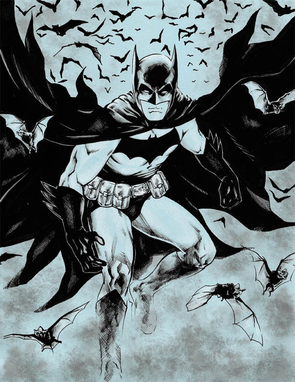 Batman by jasonbaroody