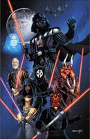 Star Wars Sith Lords by jasonbaroody