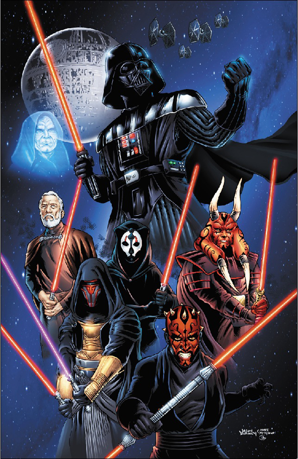 Star Wars Sith Lords by jasonbaroody