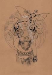 Daenerys Targaryen (Khaleesi) / Game of Thrones by jasonbaroody