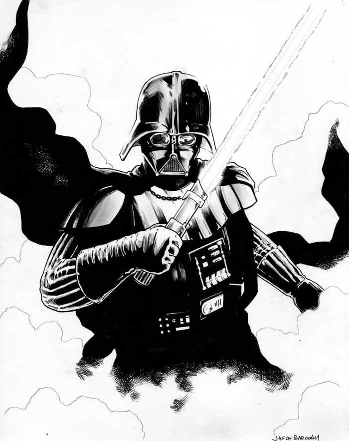 Darth Vader commission by jasonbaroody on DeviantArt