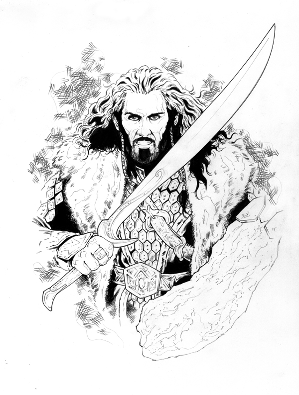 hobbit character coloring pages - photo#31