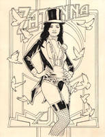 Zatanna by jasonbaroody