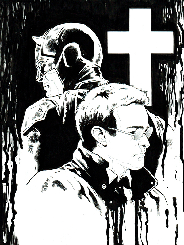 netflix daredevil coloring pages - photo#16
