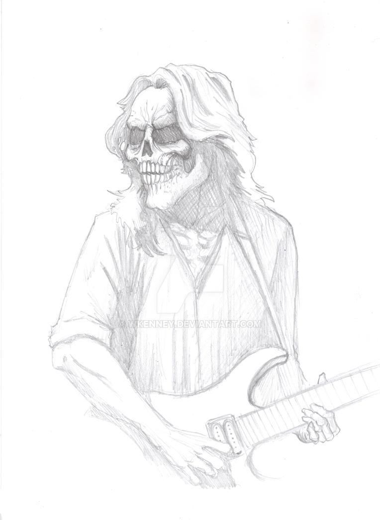 Skull Guitarist 1 by WKenney