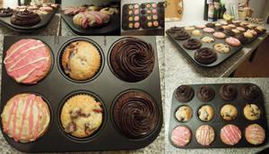 Cupcake pallette