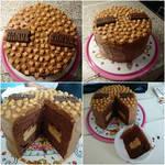 Tony Chocoloneley Salted Caramel cake
