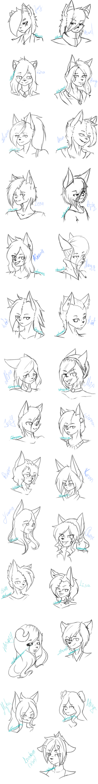 .:New Style:. Headshoot practice by Diamond-Nights