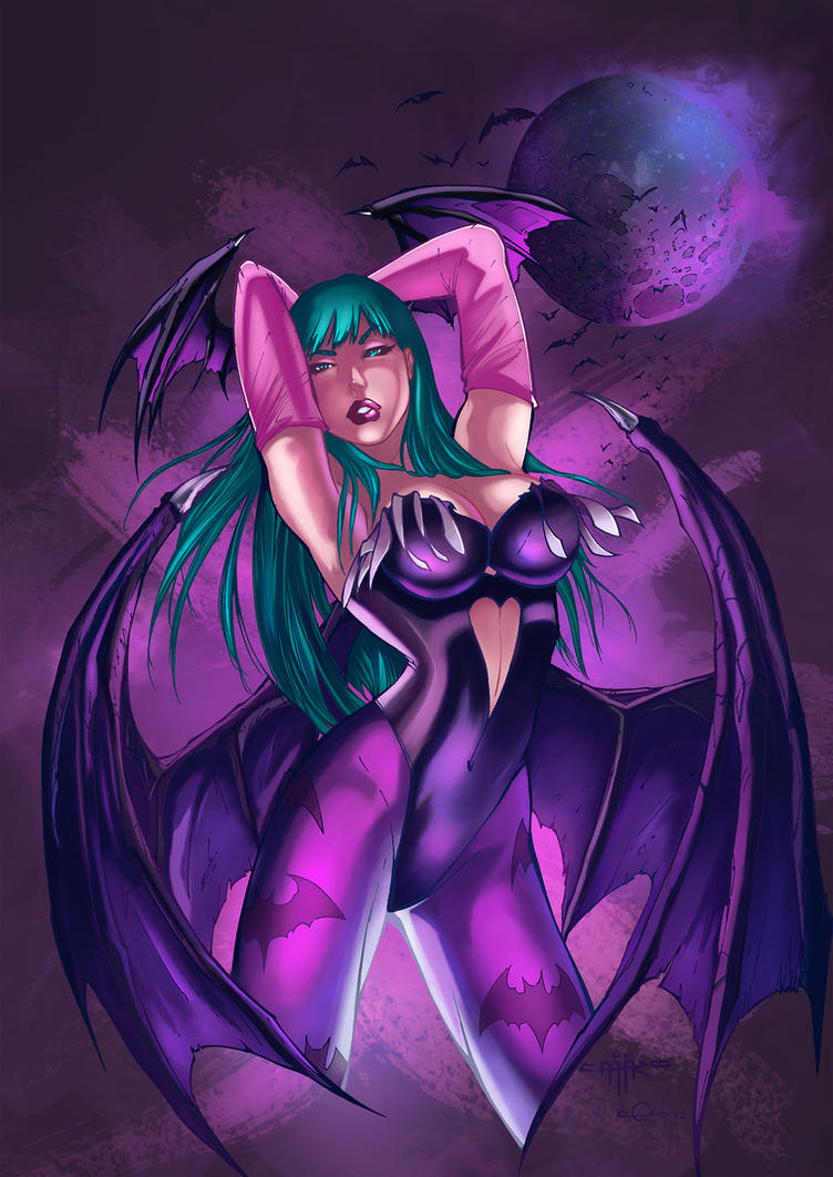 Morrigan A. by PlasmaGrunt