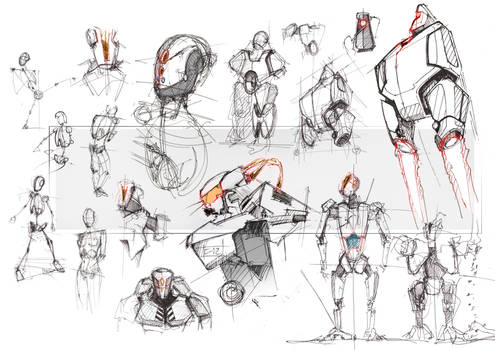 Mecha Sketches