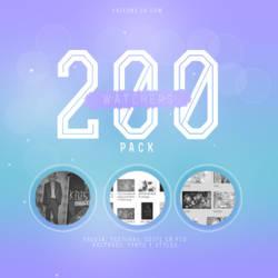 +PACK | 200 WATCHERS by xrixdnx