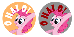 TrotCon Exclusive Buttons by sparklepeep