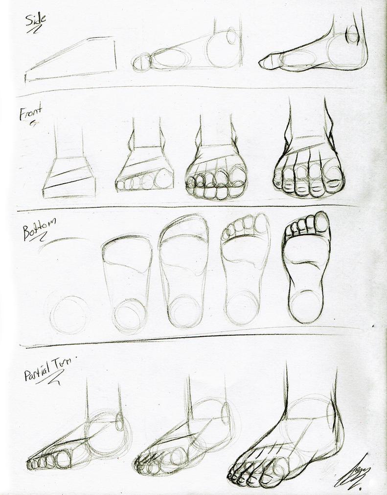 Foot Tutorial by Juacamo