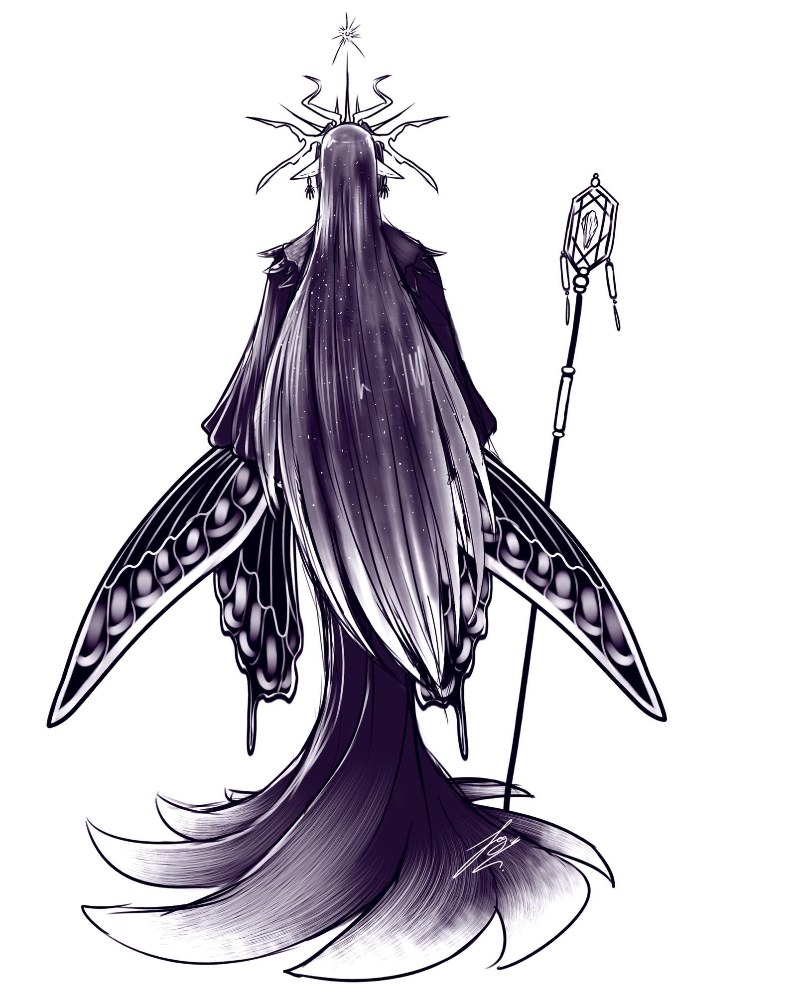 Queen Mab - Clean Sketch by Juacamo
