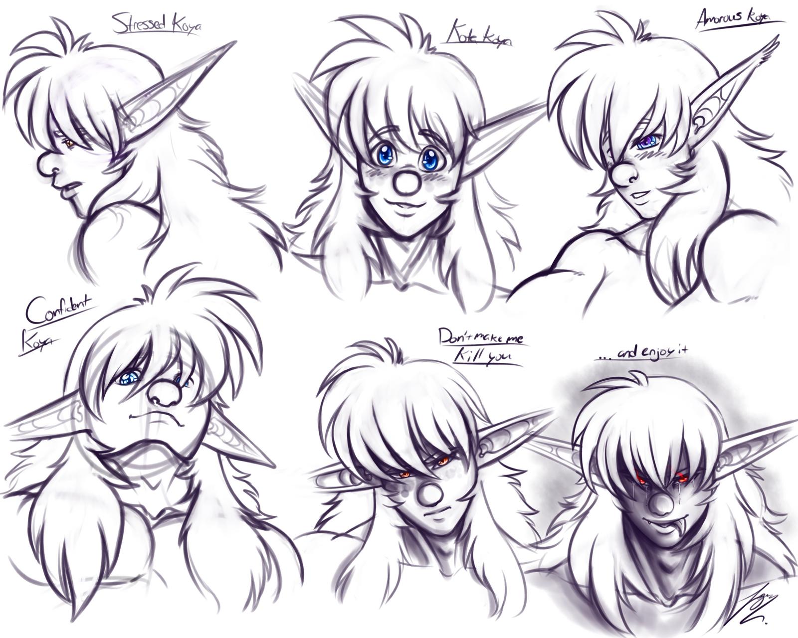Koya Expressions by Juacamo
