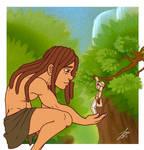 Giant Young Tarzan